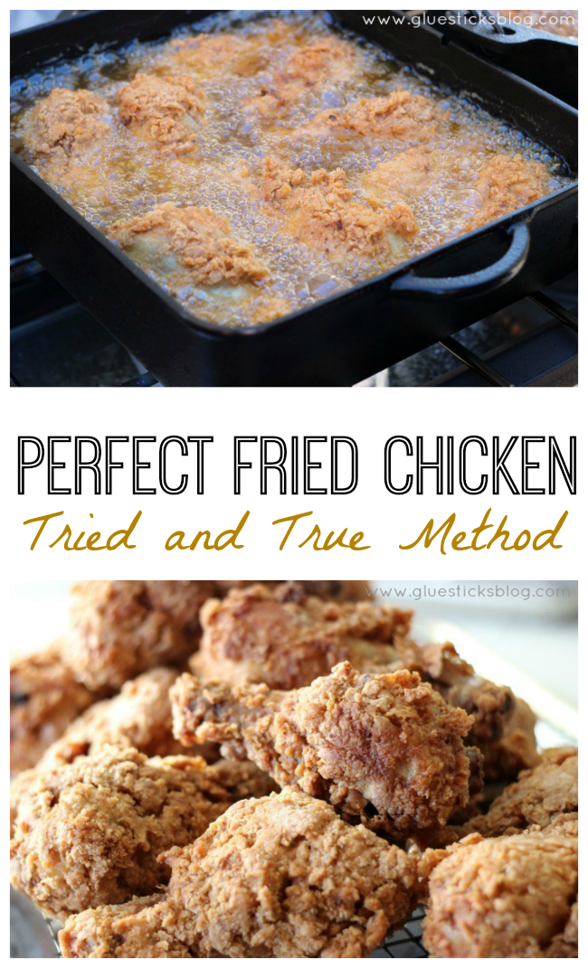 If you've made a fried chicken recipe and had it fail, you will understand my excitement for a delicious recipe like this that actually turns out great every time. I promise this is the best foolproof fried chicken recipe I've ever made.