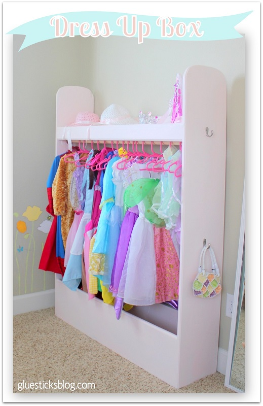 Diy Dress Up Box Organize Your Kids Dress Up Clothes