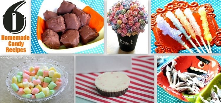 6 homemade candy recipes