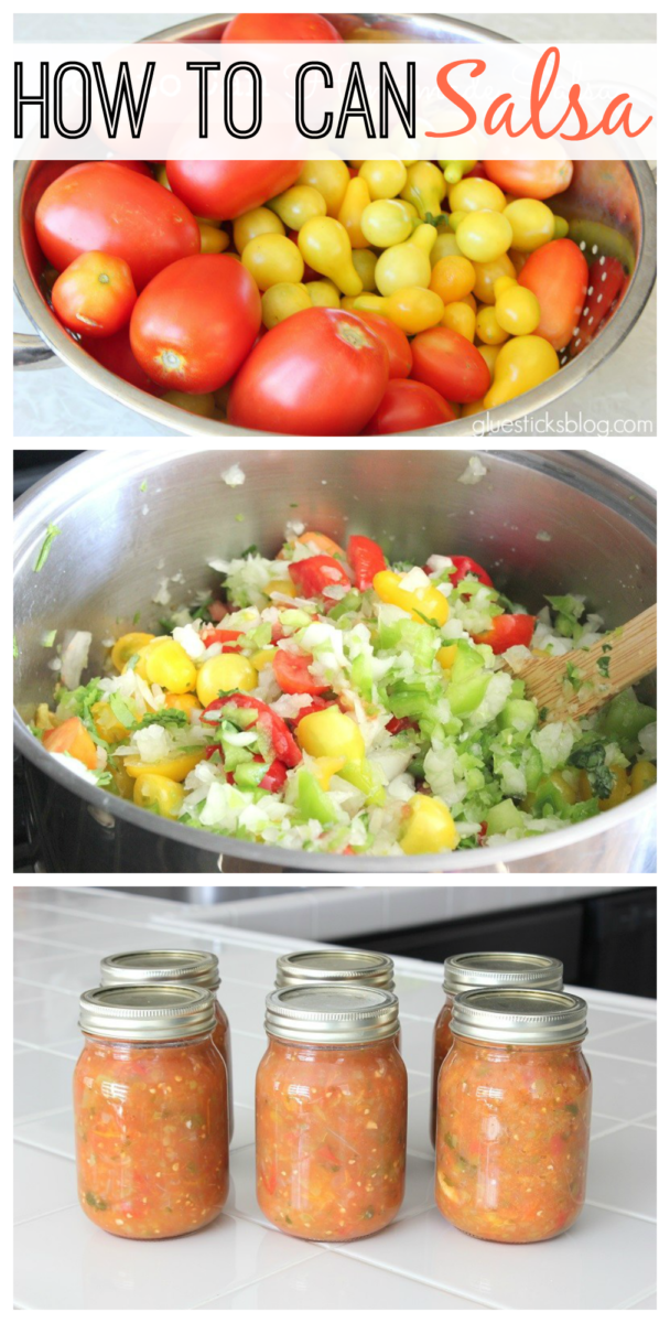 Fresh salsa is amazing, but you simply can't store it. This canned salsa is absolutely delicious and has a fantastic shelf life. It definitely rivals any salsa you'd get in a restaurant! I'll show you how to can salsa like a pro with a few simple steps.