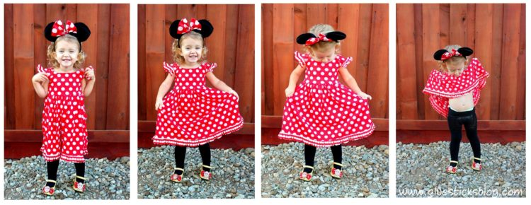 Homemade minnie mouse costume gluesticks solutioingenieria Choice Image