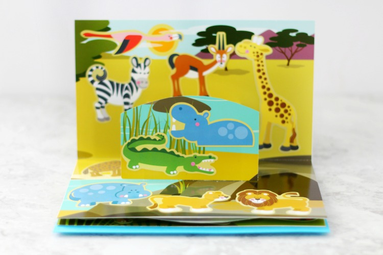 animal pop up book