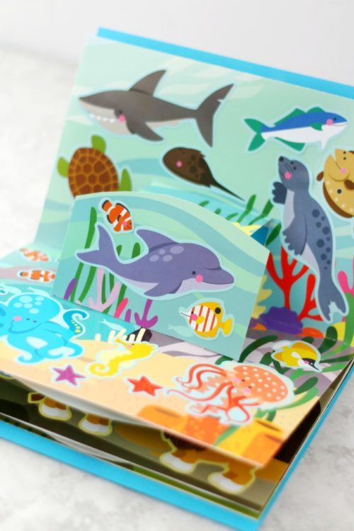 ocean pop up book
