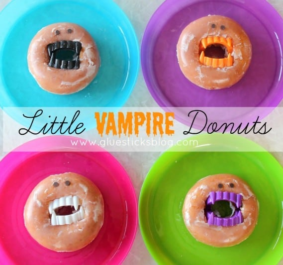 vampire donuts for classroom parties
