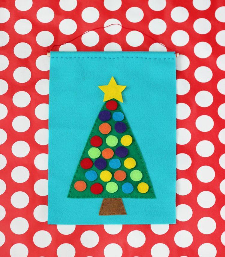 velcro tree and ornaments advent calendar