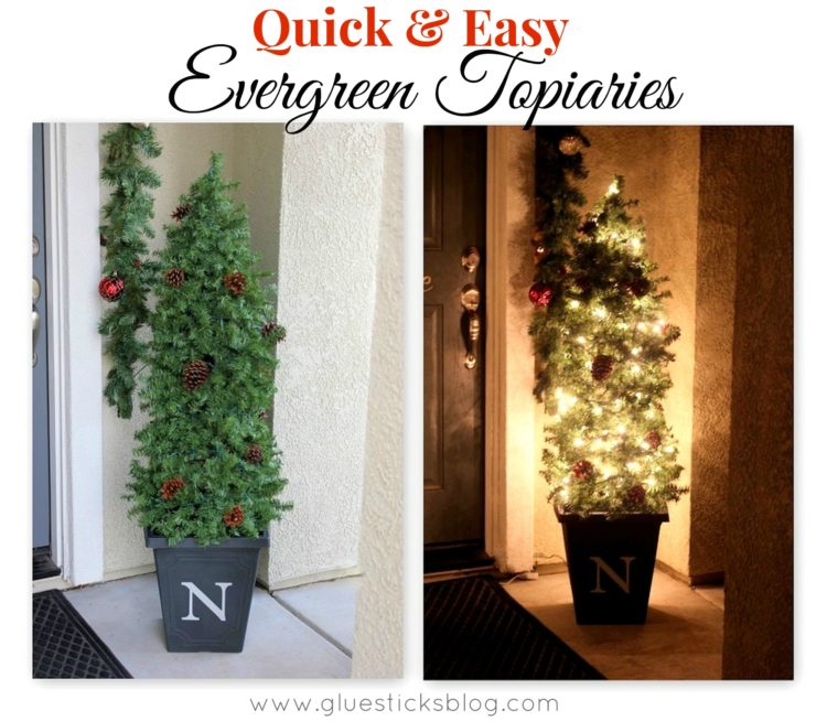 Quick & Easy Evergreen Topiary