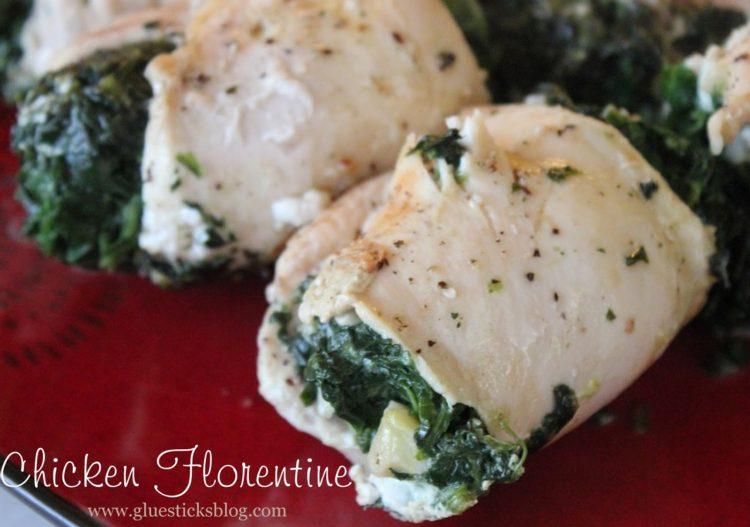 Chicken Florentine | Gluesticks