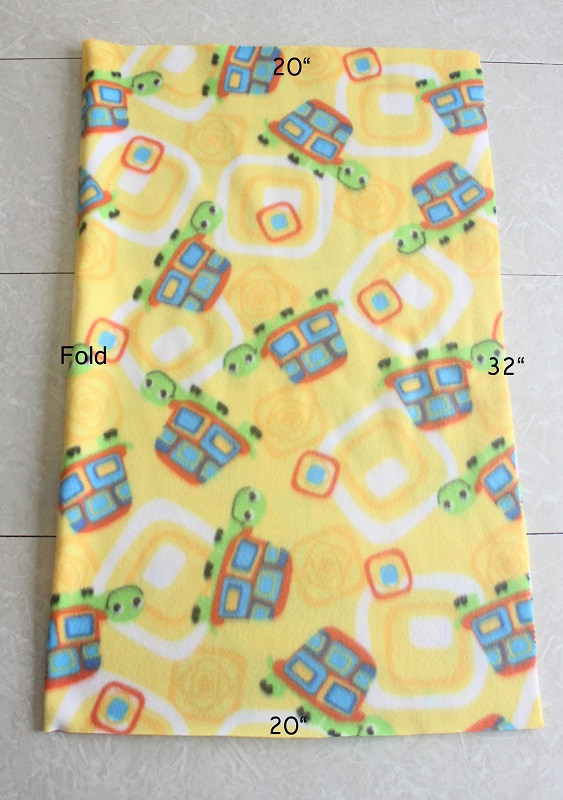fleece pillowcase dimensions