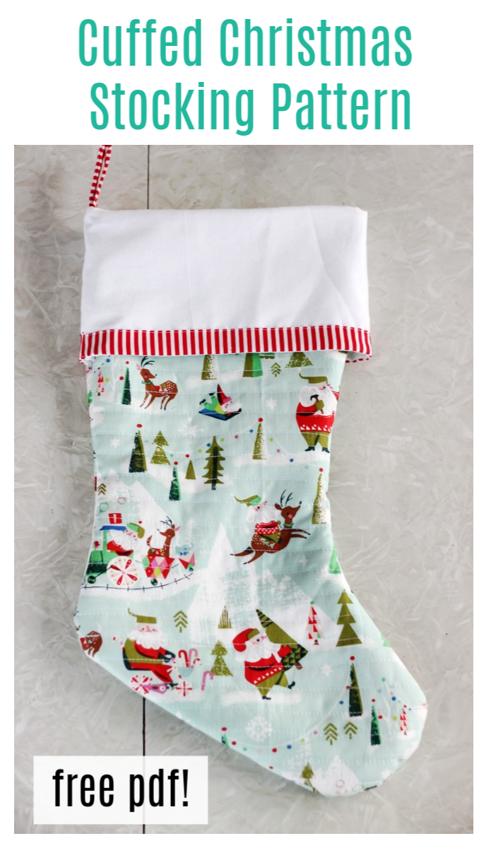 christmas stocking pdf pattern
