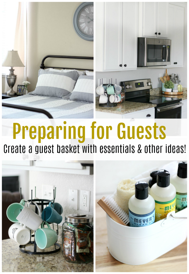 prepare for guests to stay in your home