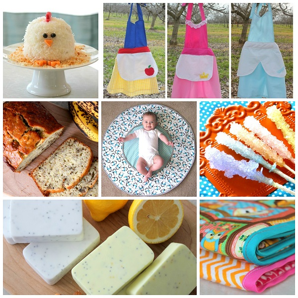 crafts, recipes and sewing projects on Gluesticks