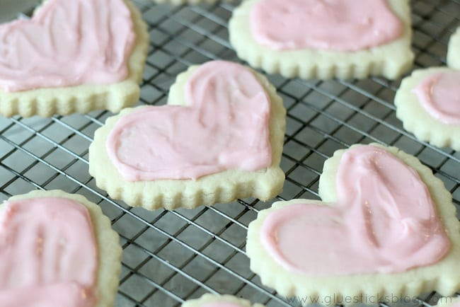 Bakery Style Valentine's Day Cookies