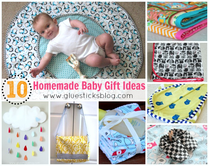 Unique Homemade Baby Gift Ideas : Handmade baby gifts ideas gift gluesticks