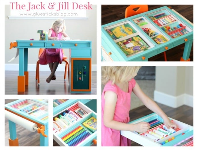 Jack and Jill Desk