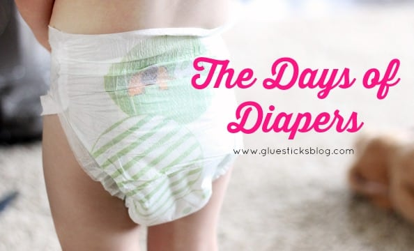 The Days of Diapers