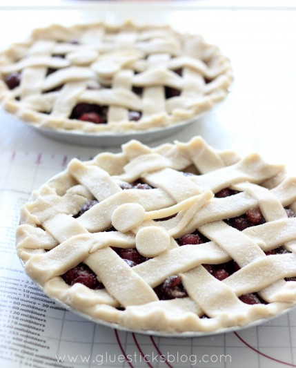 Fresh Bing Cherry Pie Recipe