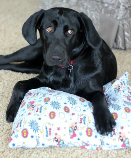 This pillow cover is a simple sewing project! Whip up several to transform outdated throw pillows. The envelope style cover makes them easy to take off to wash. No buttons, no zipper, and minimal sewing.