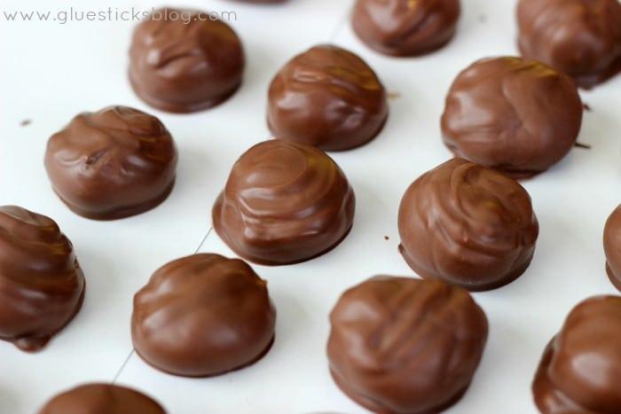 3 Step Caramel Truffles