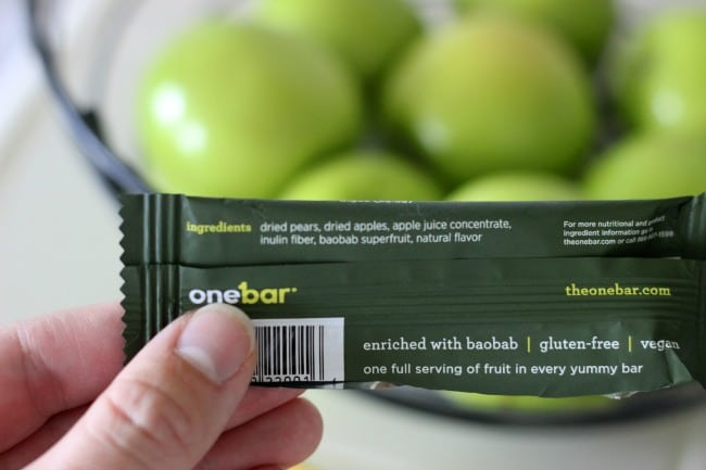 One Bar Giveaway Apple