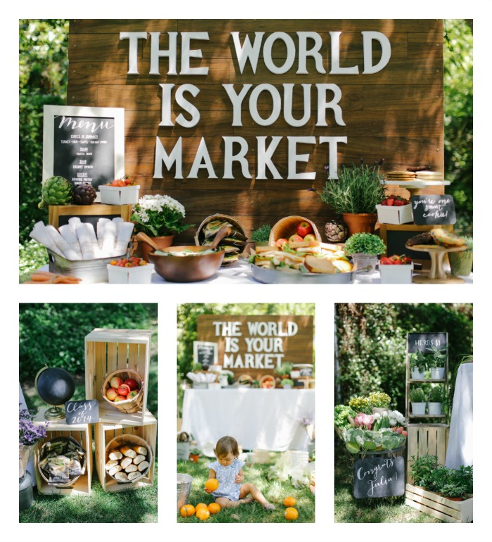 The World Is Your Market Grad Party