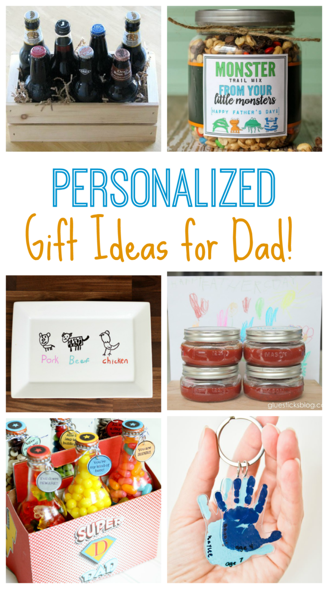 Personalized Gift Ideas for Dad!