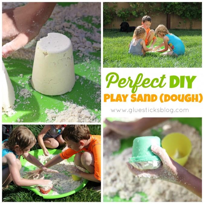 DIY Play Sand