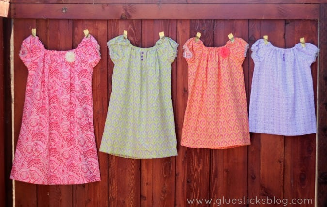 easy peasant dress pattern