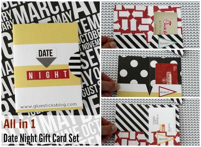 card stock gift card holder