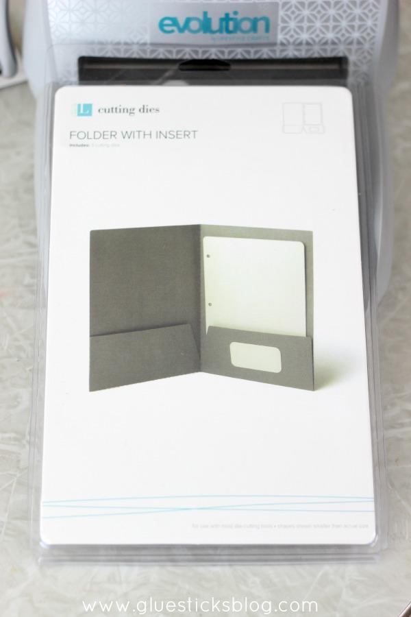 Folder With Insert Cutting Disc
