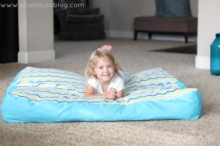Oversized Floor Pillow Gluesticks