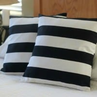 easy pillow cover in 15 minutes