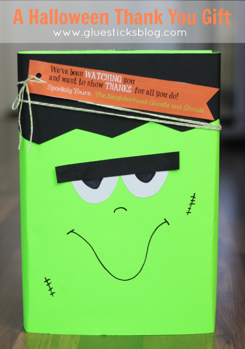 monster candy box gift
