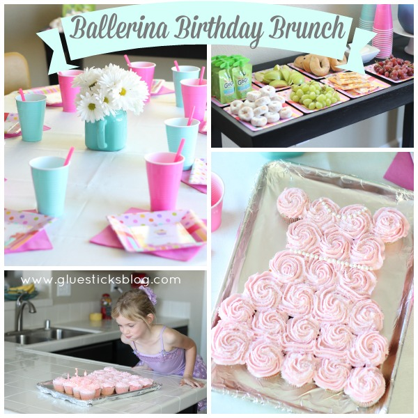 Ballerina Birthday Brunch