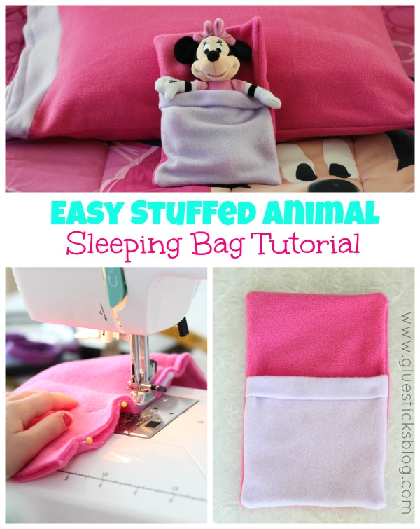 Easy Stuffed Animal Sleeping Bag
