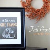 Fall Printable 8x10