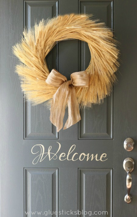 Wheat Wreath Tutorial