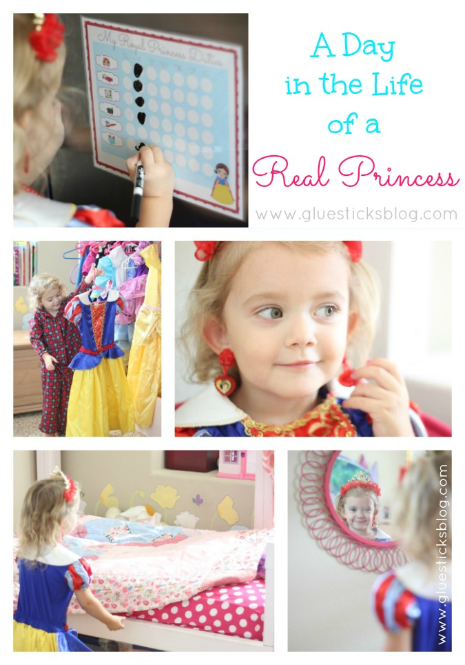 A Day in the Life of Real Princess