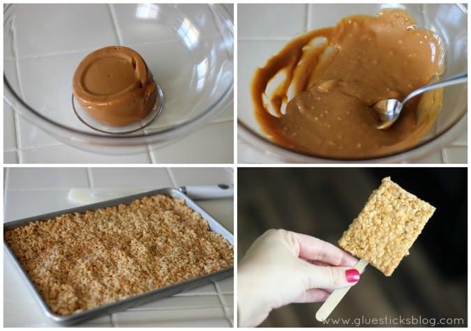 Caramel Crispy Treats