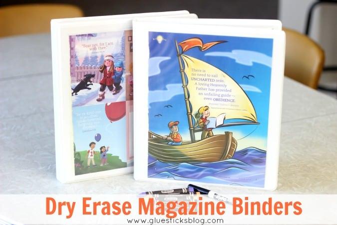 Dry Erase Magazine Binders