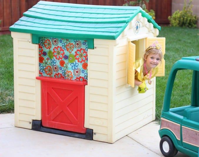 Old Playhouse turned into Princess Cottage