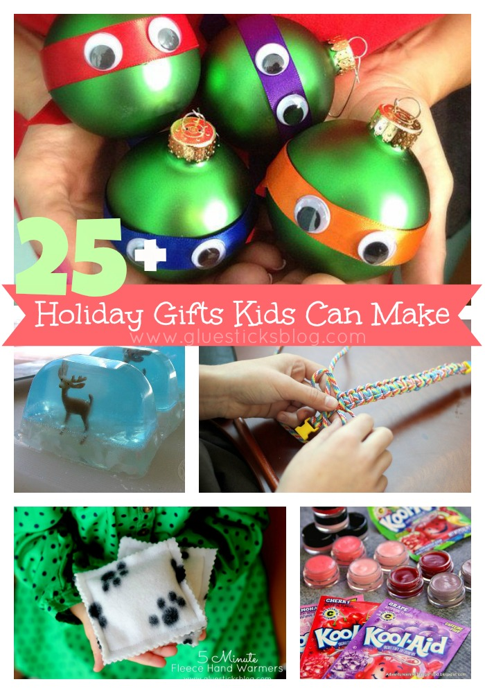 Homemade Gift Ideas that Girls Can Make! - Gluesticks