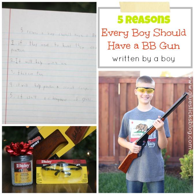 5 reasons every boy should have a bb gun