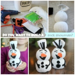 do you want to build a sock snowman