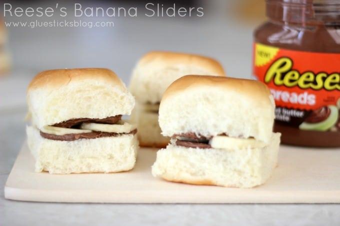 Reese's Banana Sliders