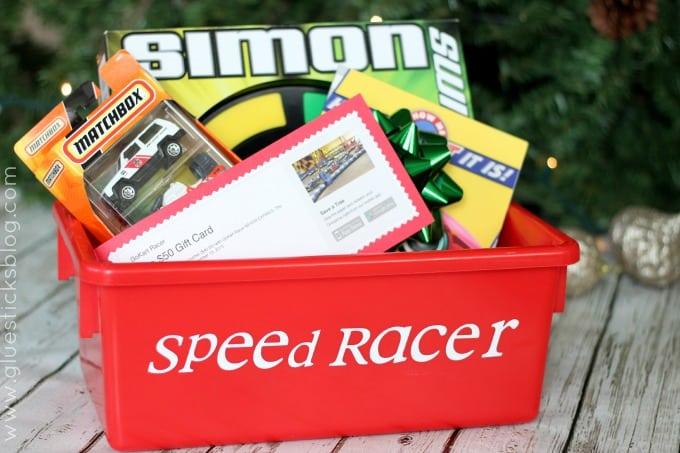 race car gift idea