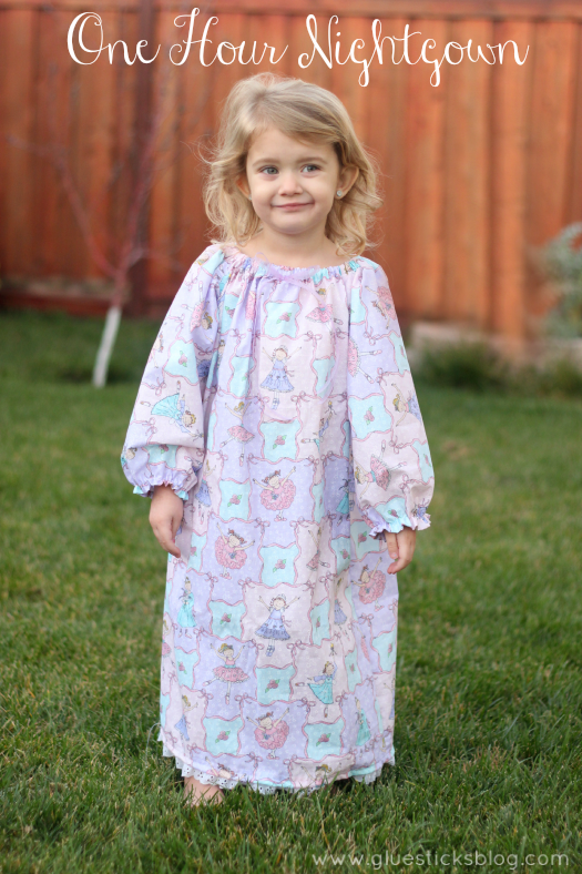 One hour nightgown pattern