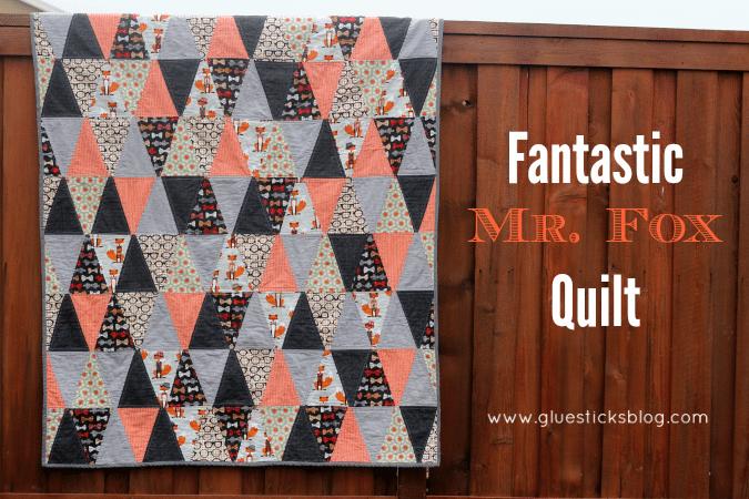 fantastic mr fox quilt
