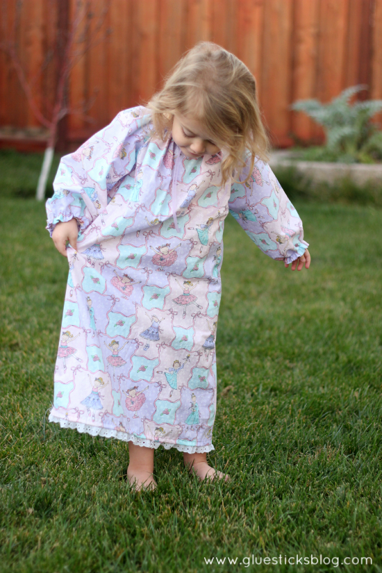 one hour nightgown for girls