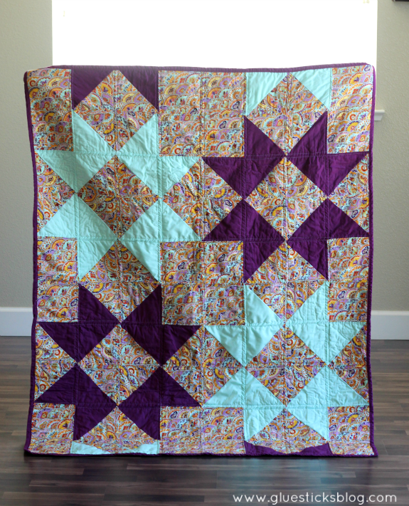 simple star quilt
