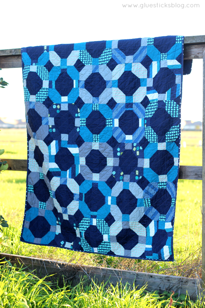 Cotton + Steel Cheerio Quilt